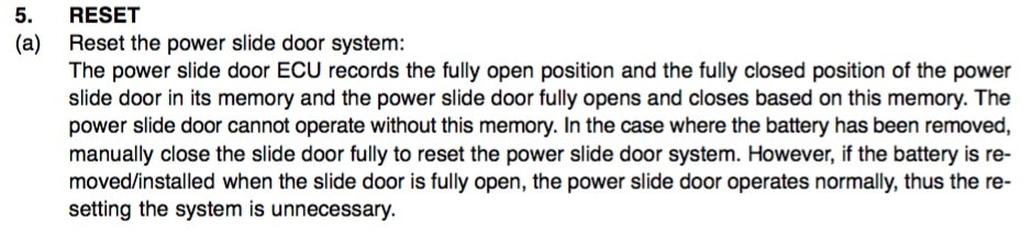 How To Replace Power Sliding Door Cables On 2004 2010