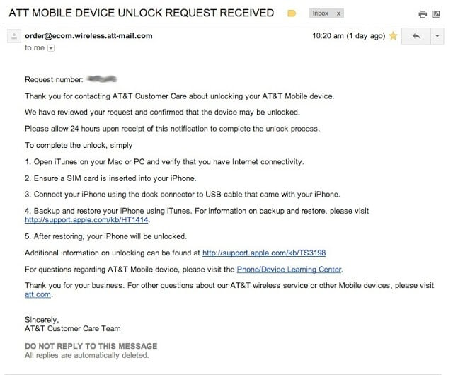 How to Factory Unlock Your Off-Contract AT&T iPhone - Share