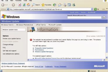 How to Fix Windows Update Failing on New Install of Windows XP